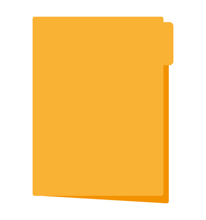 file folder document isolated icon vector illustration design