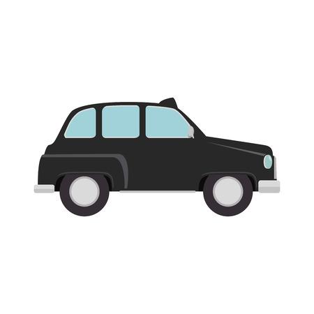 british cab classic taxi car. london symbol
