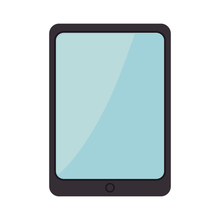 electronic gadget: digital tablet portable technology device. electronic gadget. vector illustration Illustration