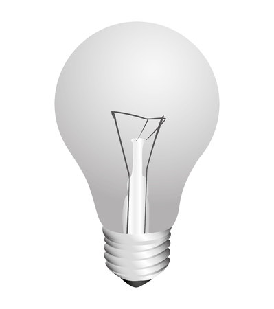 low energy: bulb light energy icon vector isolated graphic