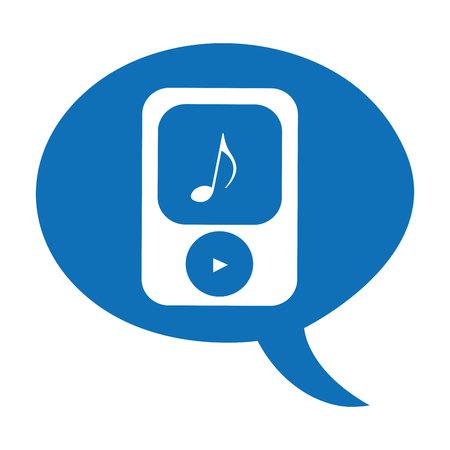 mp3: player music mp3 device vector illustration design
