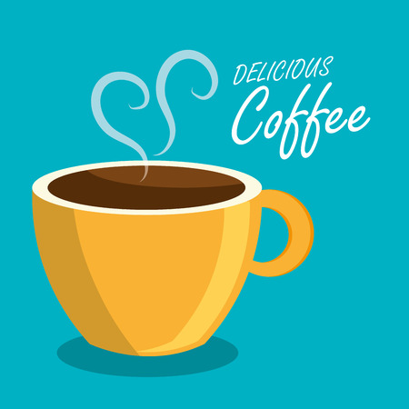 coffee beverage drink isolated vector illustration eps 10