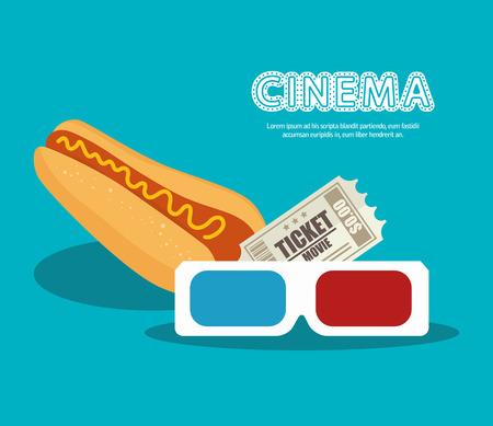 icon hot dog food design vector illustration Illustration