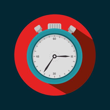 chronometer: icon chronometer sport design vector illustration Illustration