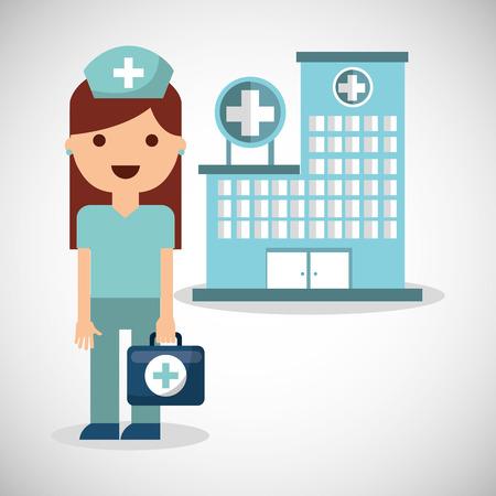 medical illustration: medical concept set icons vector illustration design