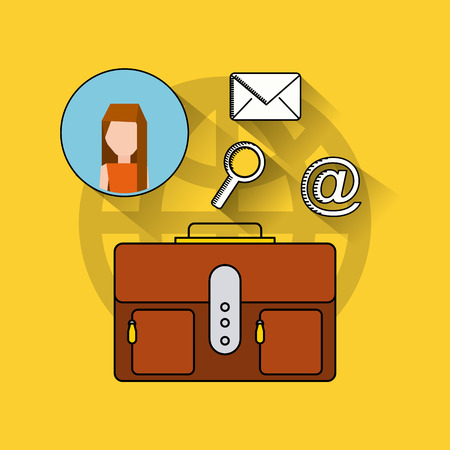 tracking: search engine optimization flat icons vector illustration design