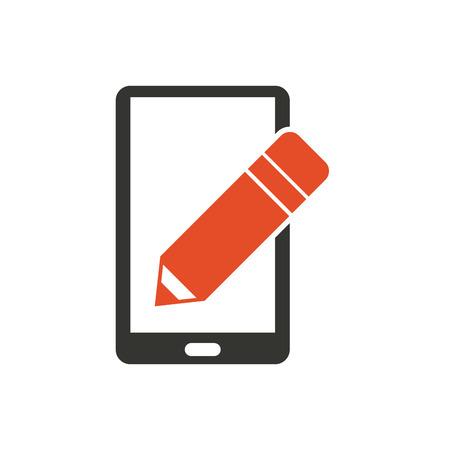 usefull app for smartphone vector illustration design