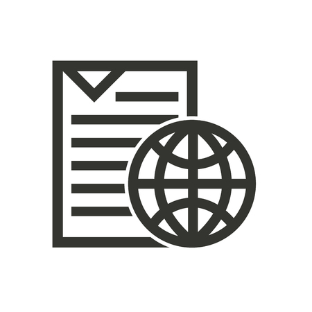 document file: text document file isolated icon vector illustration design