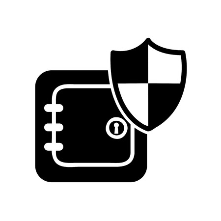 secrecy: safe box security isolated icon vector illustration design