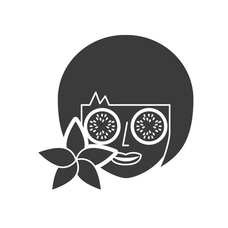 spa relax service isolated icon vector illustration design