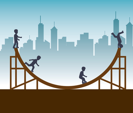 extreme sports: extreme sports design isolated vector illustration eps 10