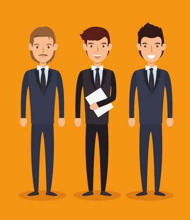 analyze: recruitment employee hired isolated vector illustration eps 10 Illustration