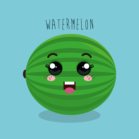 esp: cartoon fruit facial expression design isolated vector illustration esp 10