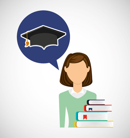education learning flat icons vector illustration design