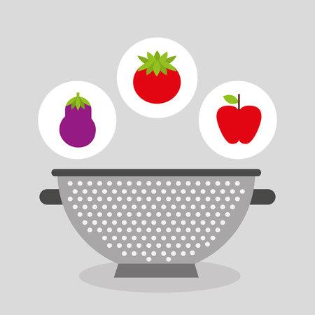 cooking healthy food icon vector illustration design
