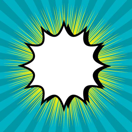 bubble speech blue background design vector illustration