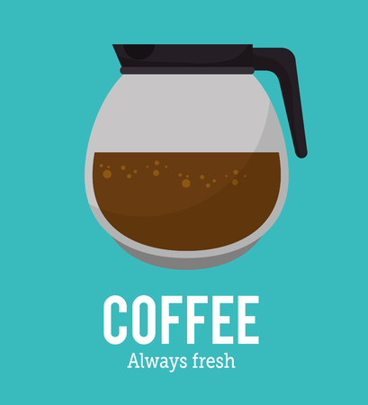 backgrouns: coffee maker glass graphic vector illustration eps 10