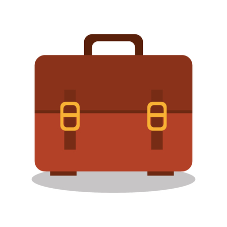 labelling: cartoon bag school icon design vector illustration