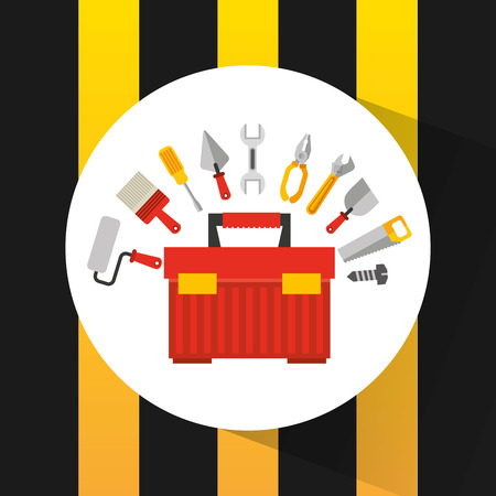 construction equipment: construction tools equipment icon vector illustration design Illustration