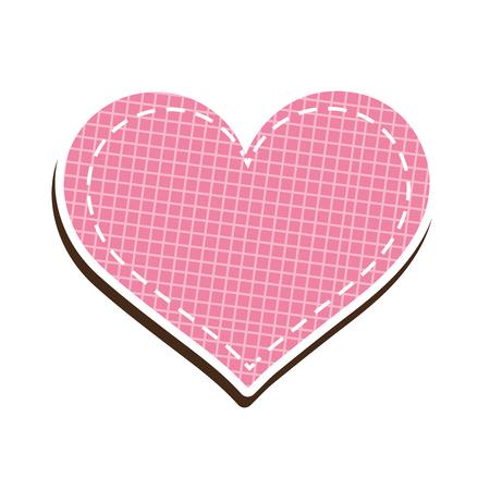 Pink Heart Shape Symbol Love Romance Passion Decoration Element