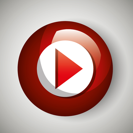 streaming: button icon live streaming design graphic vector illustration