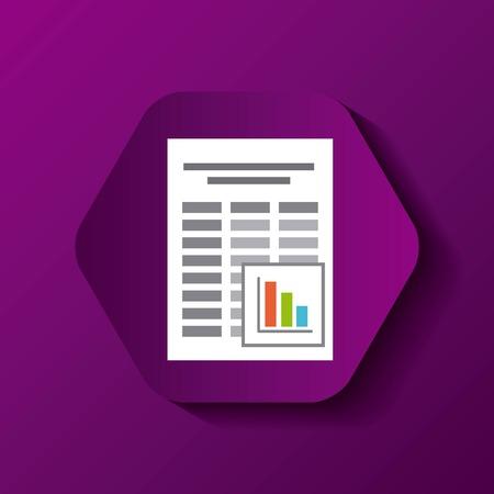 char: file format button icon vector illustration design