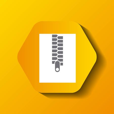file format: file format button icon vector illustration design