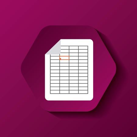 format: file format button icon vector illustration design