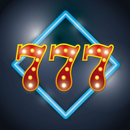 spectacular: Notice spectacular casino icon vector illustration design