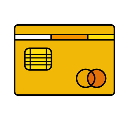 credit card bank icon vector illustration design