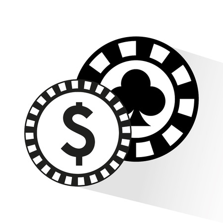 records money game casino vector illustration design Illustration