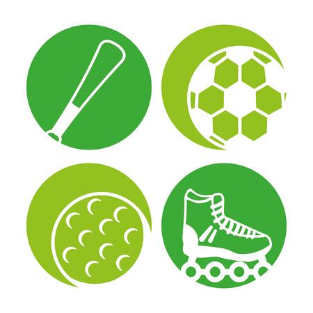 equipment: sport equipment icon vector