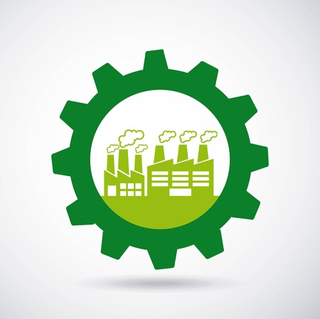 industrial plant concept icons vector illustration design
