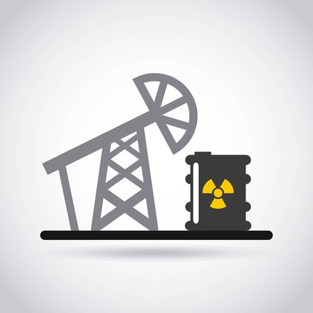 atomic: atomic nuclear industry icon vector illustration design