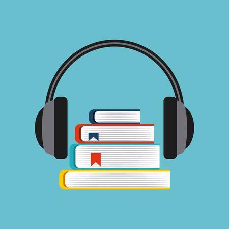 electronic book education icon vector illustration design