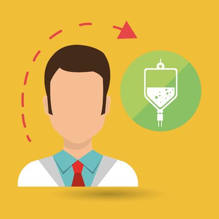 heath: doctor heath service vector illustration