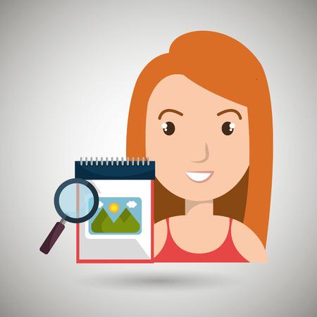 woman images album search vector illustration esp 10 Illustration