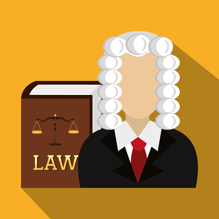 punishment: Law and legal justice graphic design, vector illustration Illustration