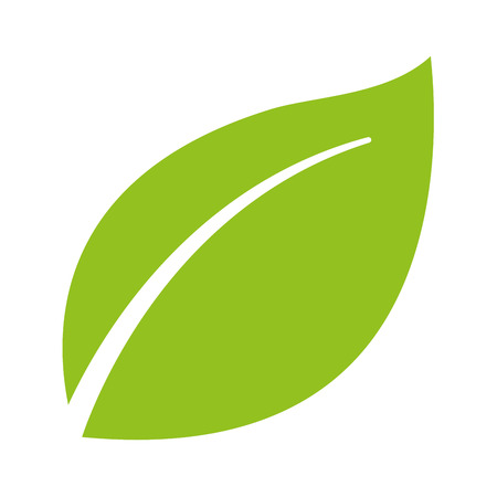 leafs plant ecology symbol vector illustration design Illustration