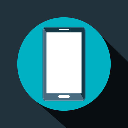 portable: smartphone technology portable icon vector illustration design