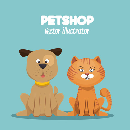 petshop veterinary symbol icon vector illustration Illustration