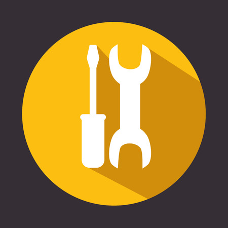 tools repair support icon design vector illustration eps 10