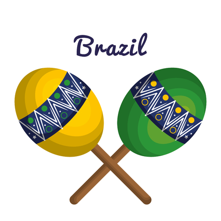 representing: welcome to brazil representing icons vector illustration design
