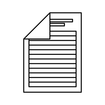 format: document file format isolated icon vector illustration design