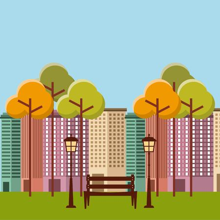 buildings cityscape skyline icon vector illustration design Illustration