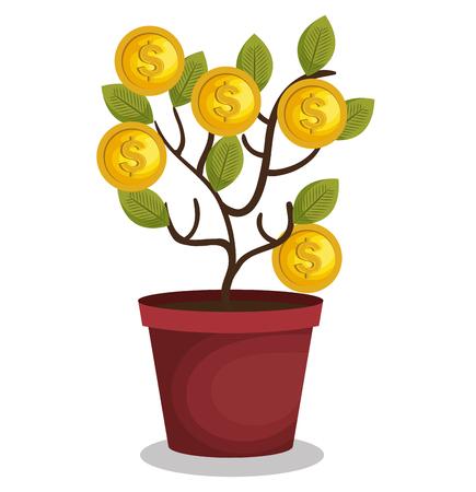 Crowdfunding-Konzept-Ikonen Vektor-Illustration, Design,