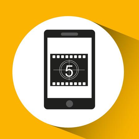 movie countdown design vector illustration