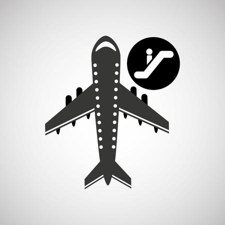 travel flying concept departure design, vector illustration  graphic Illustration