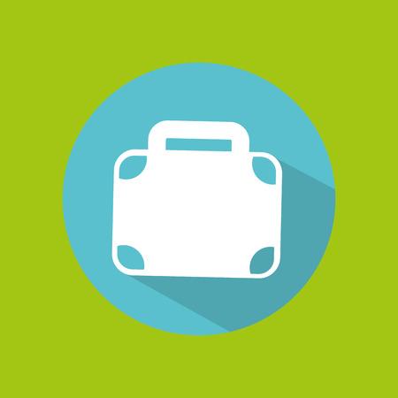 traveler: man tourist traveler suitcase design, vector illustration  graphic