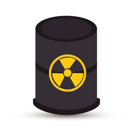 atomic: atomic industry isolated icon vector illustration design